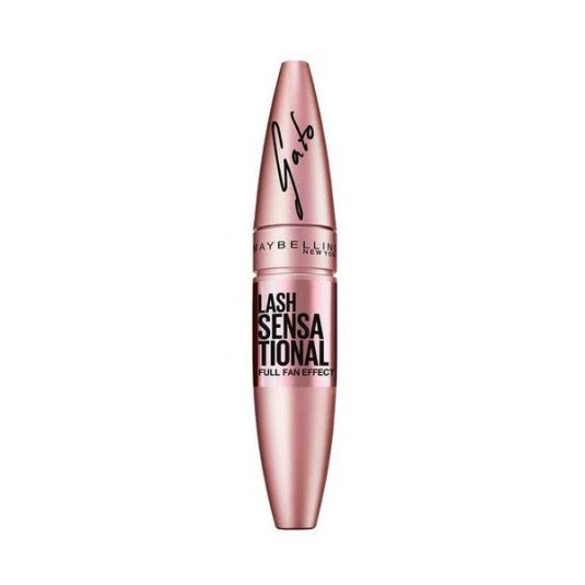 maybelline mascara de pestañas lash sensational gato color negro 001