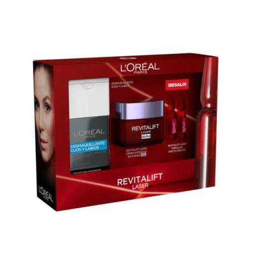 loreal expertise revitalift laser dia 50 ml set 3 piezas