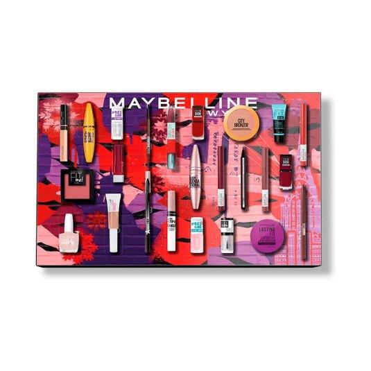 maybelline calendario de adviento 2021 makeup