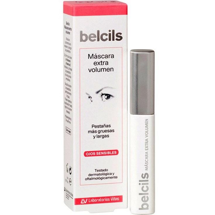 belcils mascara pestañas extra volumen ojos sensibles 8ml