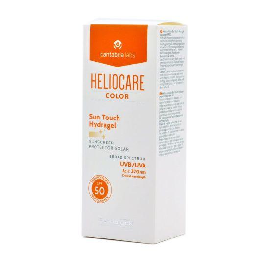 heliocare color toque de sol hidragel protector solar spf50 50ml