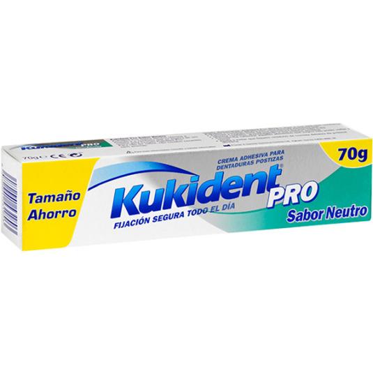 kukident pro fijación segura todo el día crema adhesiva dentaduras postizas 40g