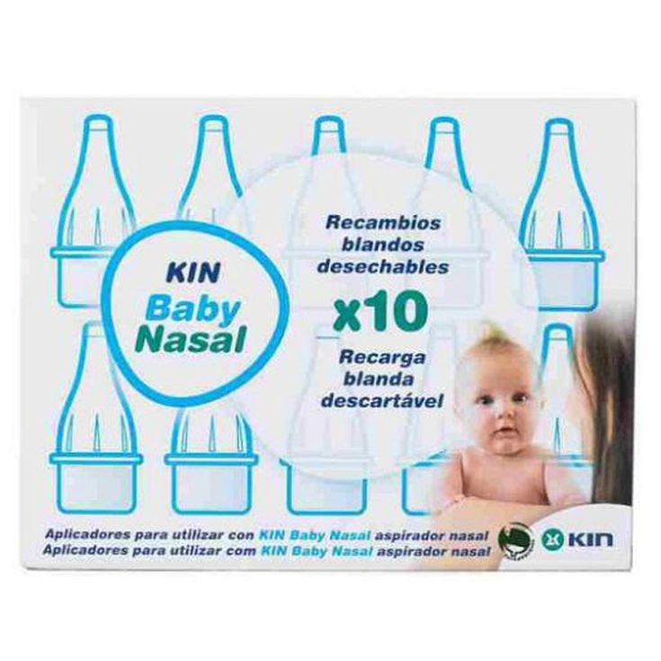 kin baby recambio nasal 10ud
