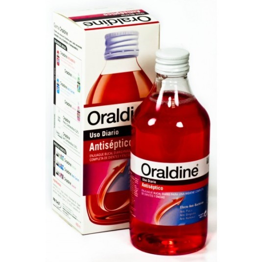 oraldine antiséptico colutorio
