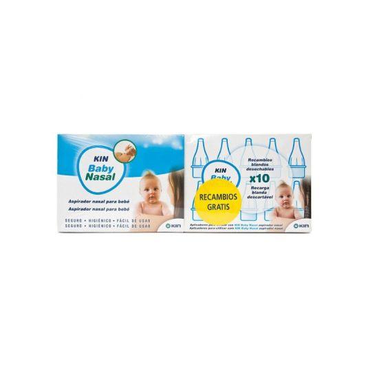 kin baby nasal + 10 recambios gratis