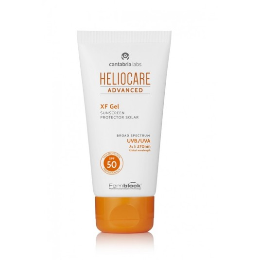 heliocare advanced xf gel protector solar facial spf50 50ml