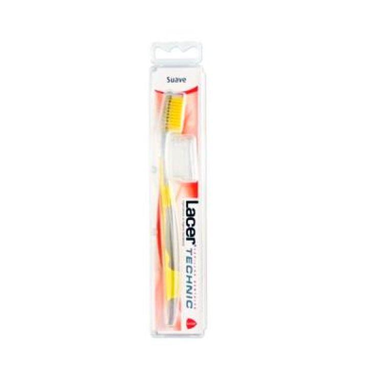 lacer technic cepillo dental suave