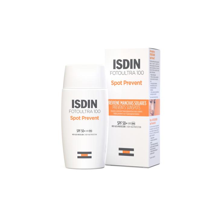 isdin fotoprotector facial ultra 100 isdin spot prevent fusion fluid spf50+50ml