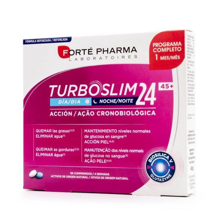 forte pharma turboslim cronoactive forte 45+de forte pharma es un complemento alimenticio 56 comprimidos