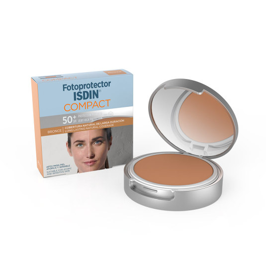 ISDIN FOTOPROTECTOR SPF50+ MAQUILLAJE COMPACTO BRONCE