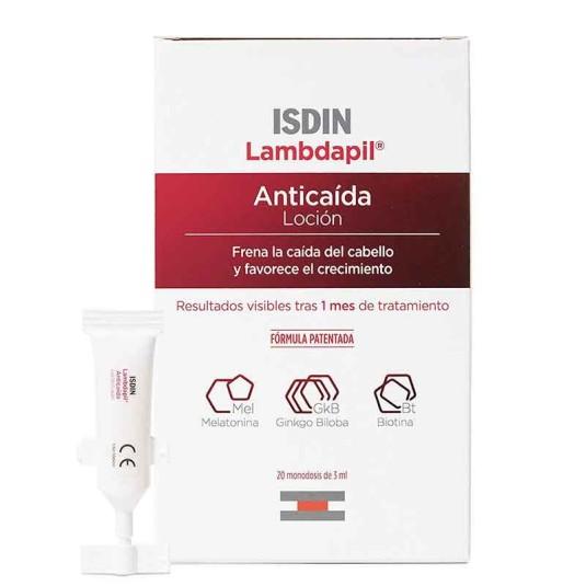 isdin lambdapil anticaida locion 20 monodosis 3ml