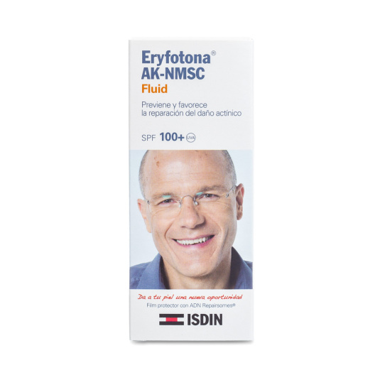 isdin fotoprotector facial eryfotona ak-nmsc fluid spf100+50ml