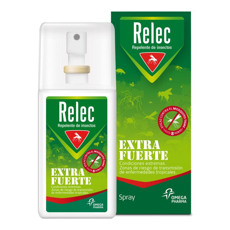 relec repelente insectos extra fuerte 75ml