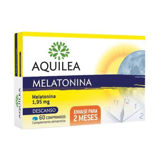 aquilea melatonina ayuda a conciliar sueño 1,95mg 60 comprimidos