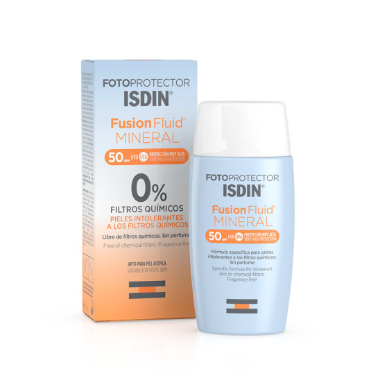 isdin fotoprotector facial fusion fluid mineral spf50+ 50ml