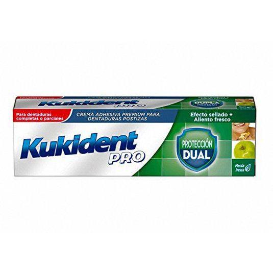 kukident pro protección dual sabor menta fresca 40g