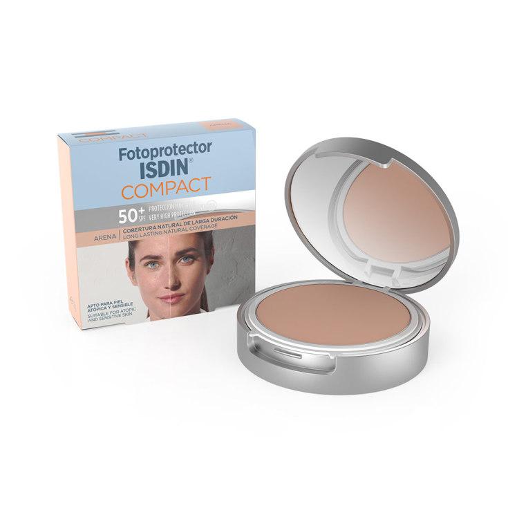 isdin fotoprotector facial compact arena spf50+