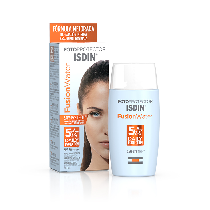 isdin fotoprotector facial isdin fusion water spf50+ 50ml