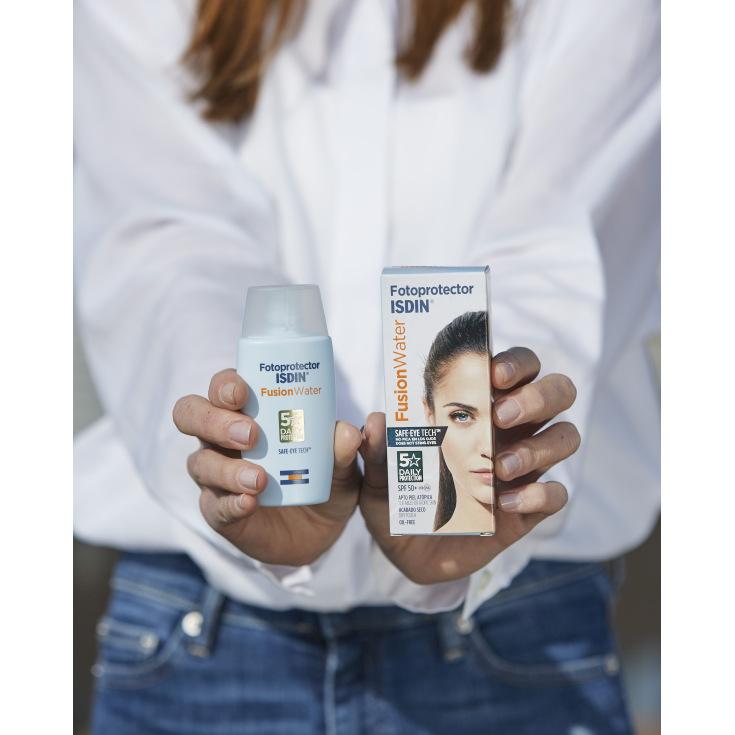isdin fotoprotector facial isdin fusion water spf50+ 50ml