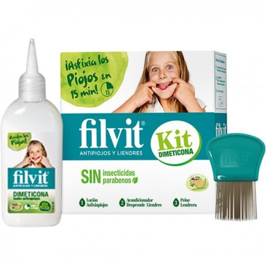 filvit kit dimeticona antipiojos