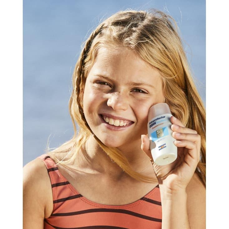 isdin pediatric fusion water spf50+ fotoprotector facial 50ml
