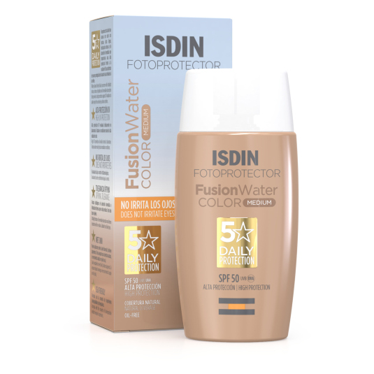 isdin fotoprotector facial isdin fusion fluid color spf50+50ml