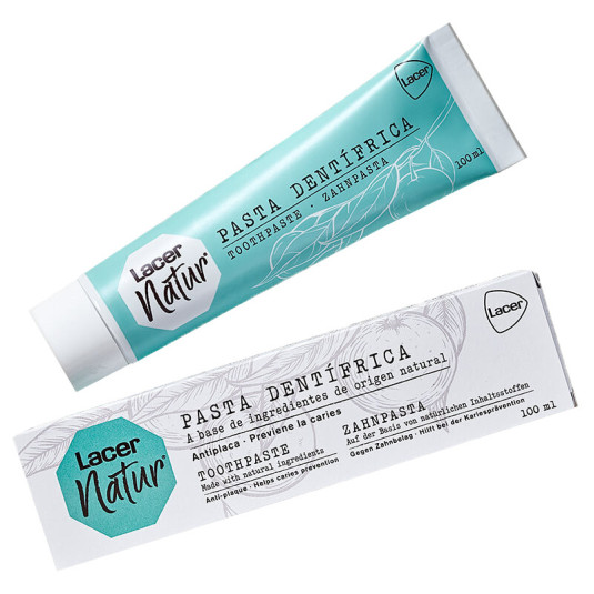 lacer natur pasta de dientes natural 100ml