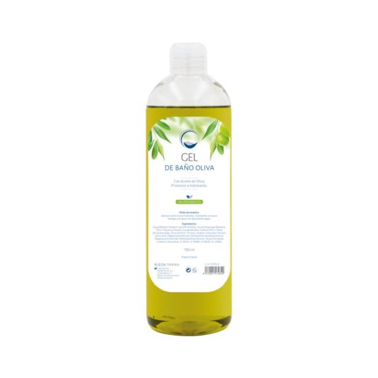 edda gel de baño aceite de oliva