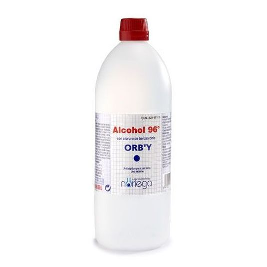 orby alcohol sanitario 96º 1000ml