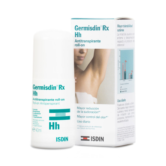 isdin germisdin rx hh roll-on antitranspirante