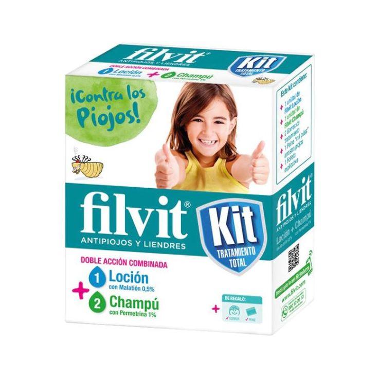 filvit kit tratamiento antipiojos