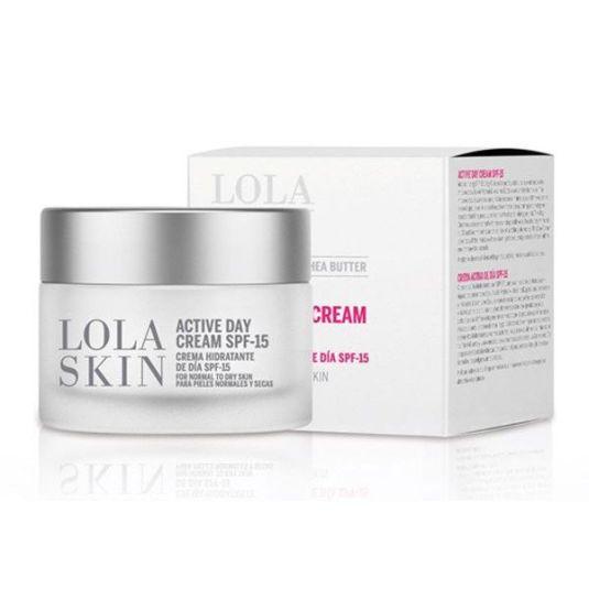 lola skin crema hidratante de día spf15 50ml