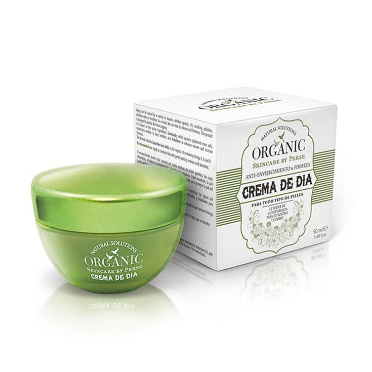 organic crema de dia anti-envejecimiento 50ml