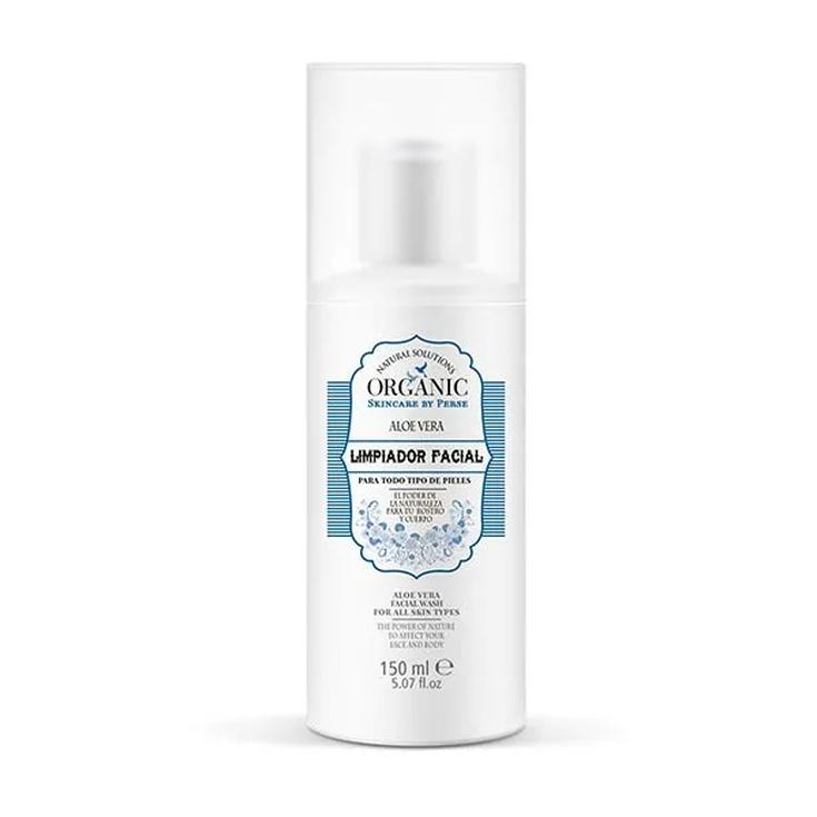 organic limpiador facial aloe vera 150ml