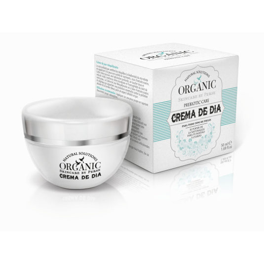 organic prebiotic crema de dia re-equilibrante 50ml