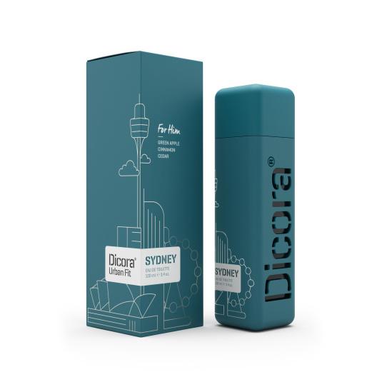 dicora urban fi sydney eau de toilette hombre 100ml