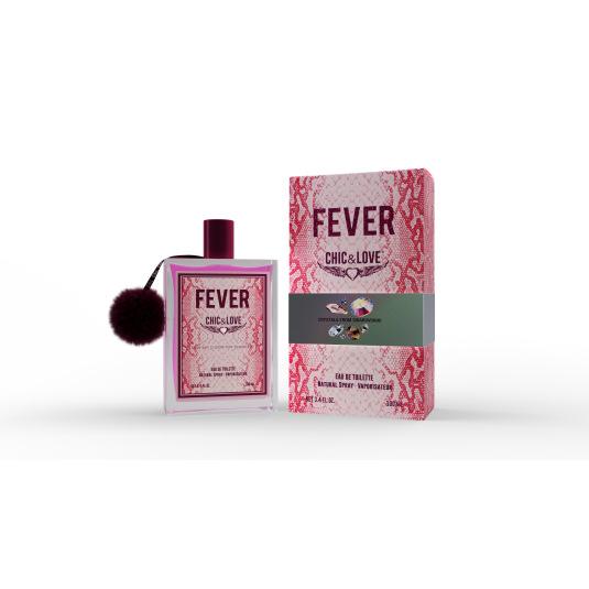chic & love fever eau de toilette 100ml