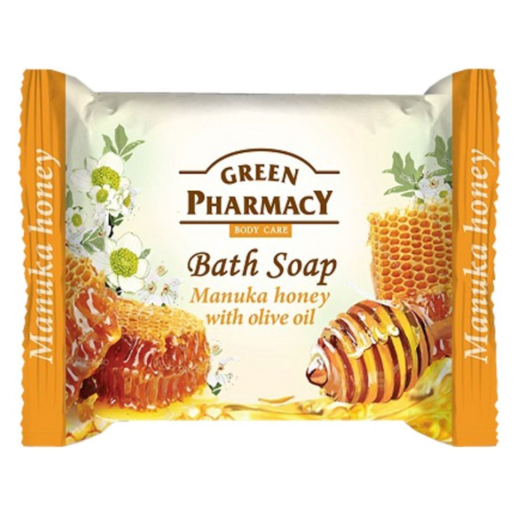 green pharmacy jabon miel de abeja 100gr