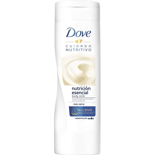 dove body milk cuidado nutritivo 400ml