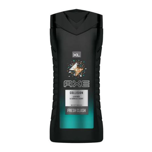axe collision leather+cookies gel ducha 400ml