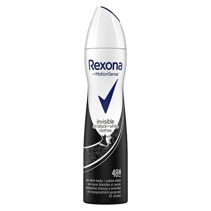 rexona desodorante invisible spray 200ml
