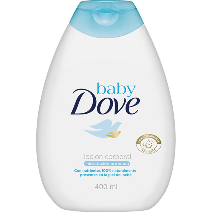 dove baby loción corporal para bebés 400ml