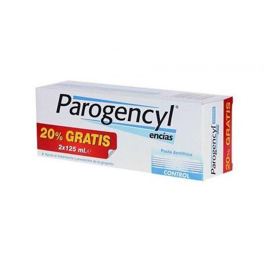 parogencyl control encias  pasta de dientes duplo 2x125g