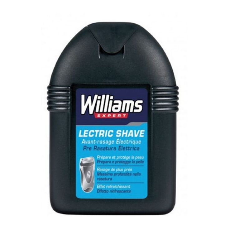 williams lectric shave locion pre-afeitado electrico 100ml