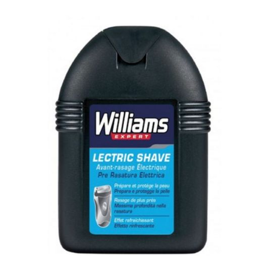 williams lectric shave locion pre-afeitado electrico 100ml