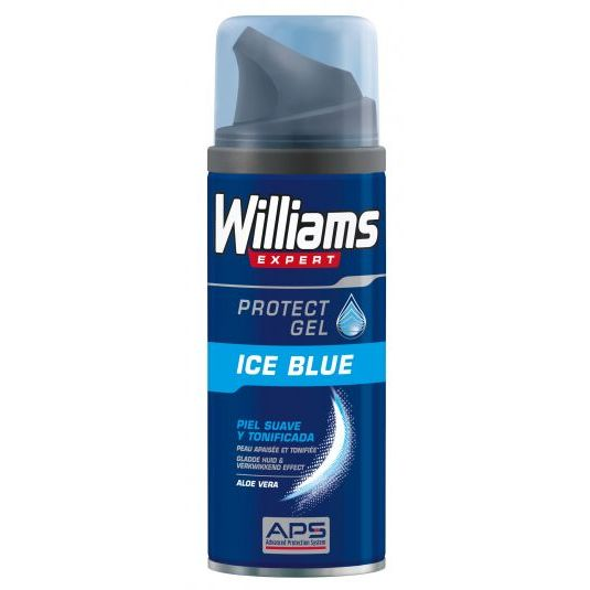 williams expert ice blue gel afeitar 200ml