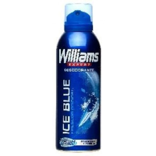 williams ice blue desodorante spray 200ml