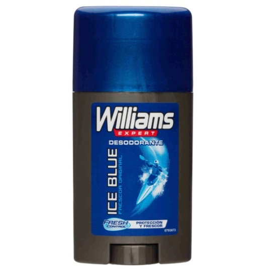 williams ice blue desodorante stick 75ml