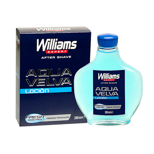 williams expert aqua velva lociOn after shave 200ml