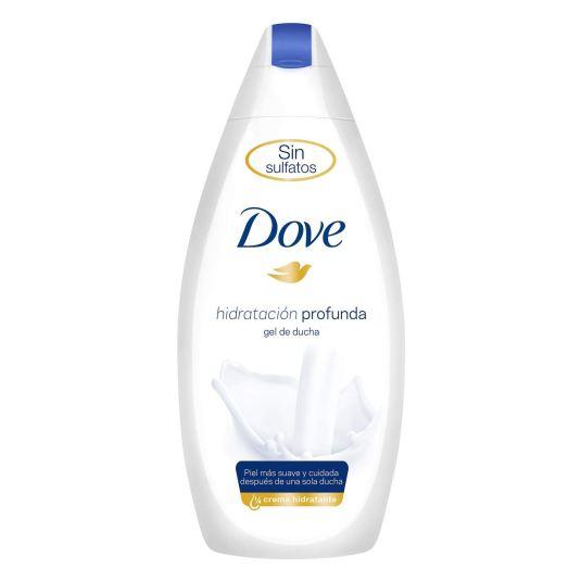 dove del de ducha sin sulfatos hidratacion profunda 600 ml.